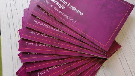 Za naše sugrađane, pripremili smo brošuru o aktivnom i zdravom starenju